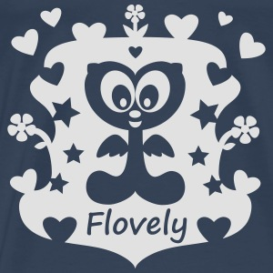 Flovely World - Männer Premium T-Shirt