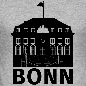 Bonn - Männer Slim Fit T-Shirt