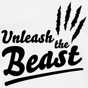 Unleash the beast Tops - Männer Premium T-Shirt