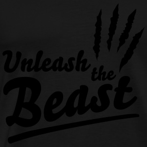 Unleash the beast Hoodies - Men's Premium T-Shirt