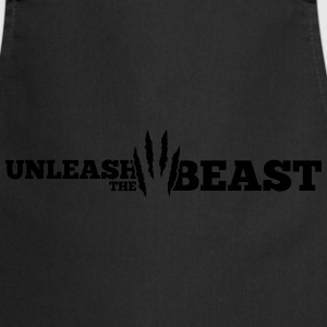 Unleash the Beast Bodybuilding Kratzspuren Tops - Keukenschort