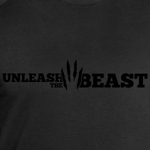 Unleash the Beast Bodybuilding Kratzspuren Long sleeve shirts - Men's Sweatshirt by Stanley & Stella
