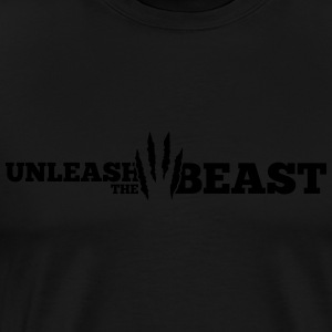 Unleash the Beast Bodybuilding Kratzspuren Débardeurs - T-shirt Premium Homme