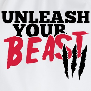 Unleash uw beest T-shirts - Gymtas