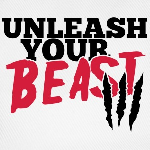 Unleash uw beest T-shirts - Baseballcap
