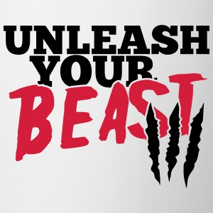 Unleash uw beest T-shirts - Mok