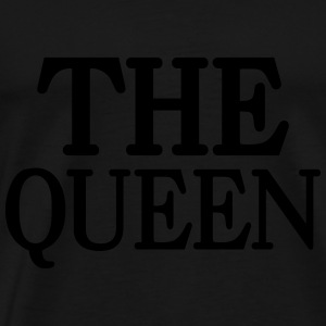 The Queen Gensere - Premium T-skjorte for menn
