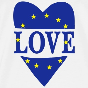 Love Europe Tops - Camiseta premium hombre