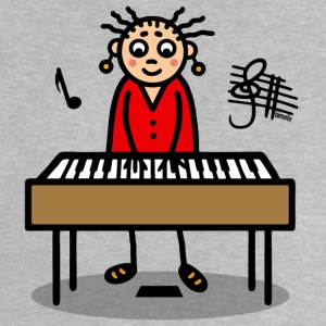 Frau am Keyboard T-Shirts - Baby T-Shirt