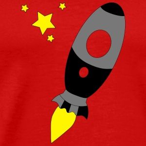 Raket to the stars - Mannen Premium T-shirt