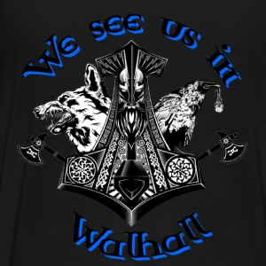 We see us in Walhall Pullover & Hoodies - Männer Premium T-Shirt