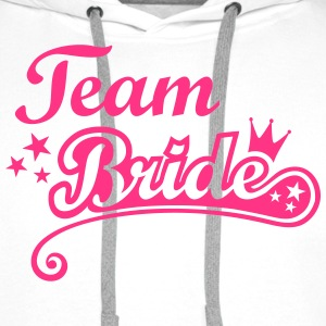 Team Bride Stag and Hen Nights out Party Crew  Tops - Men's Premium Hoodie