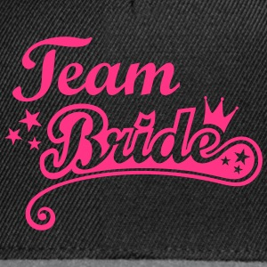 Team Bride Stag and Hen Nights out Party Crew  Bags & Backpacks - Snapback Cap