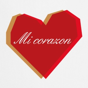 Badges Mi Corazon - Tablier de cuisine
