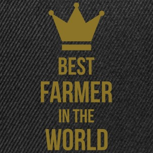 Best Farmer T-Shirts - Snapback Cap