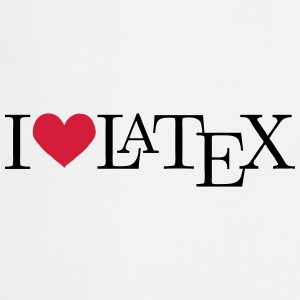 I love LaTeX Pullover & Hoodies - Kochschürze
