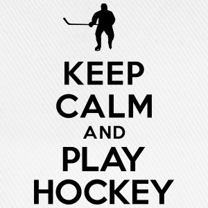 Keep calm play hockey Sweat-shirts - Casquette classique