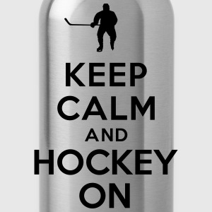 Keep calm hockey on Sweat-shirts - Gourde