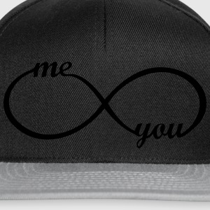 I love you My Boyfriend Girlfriend Liebe Herz Paar T-Shirts - Snapback Cap