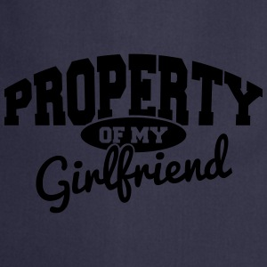 PROPERTY OF MY GIRLFRIEND T-Shirts - Cooking Apron