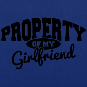 PROPERTY OF MY GIRLFRIEND T-Shirts - Tote Bag