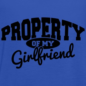 PROPERTY OF MY GIRLFRIEND T-Shirts - Women's Tank Top by Bella