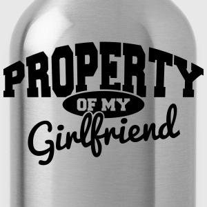 PROPERTY OF MY GIRLFRIEND Tee shirts - Gourde