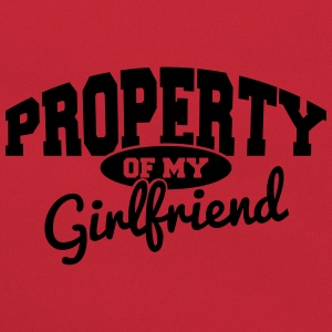 PROPERTY OF MY GIRLFRIEND Tee shirts - Sac Retro
