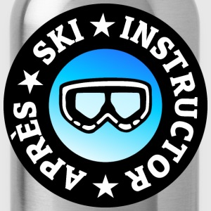 Après-Ski Instructor (Goggles) T-Shirts - Water Bottle