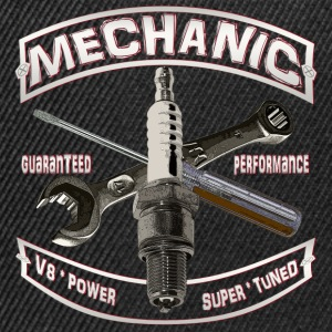 Mechanic spark Hot Rod  Pullover & Hoodies - Snapback Cap