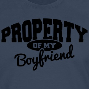 PROPERTY OF MY BOYFRIEND Sweat-shirts - T-shirt manches longues Premium Homme