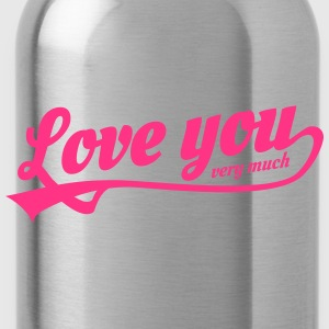love you very much Petten & Mutsen - Drinkfles
