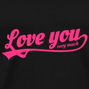 love you very much Gorras y gorros - Camiseta premium hombre