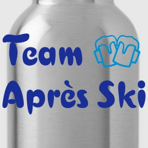 Apres Ski Team Member Skiing Party Crew T-Shirts - Trinkflasche