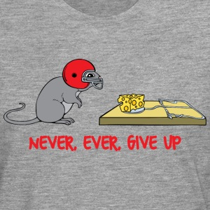 Never ever give up T-Shirts - Men's Premium Longsleeve Shirt