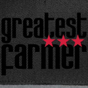 Greatest Farmer Shirts - Snapback cap