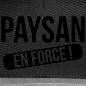Paysan en force ! Tee shirts - Casquette snapback