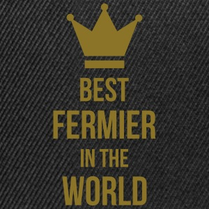 Best Fermier in the World Tabliers - Casquette snapback