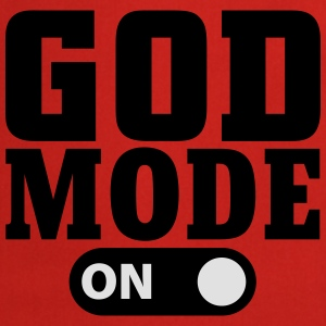 God Mode on T-Shirts - Kochschürze