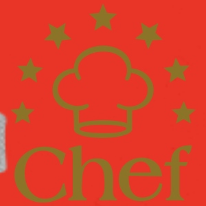 Chef Chef's Hat Cook Cooking Icon Stars  Caps & Hats - Men's Premium Hoodie
