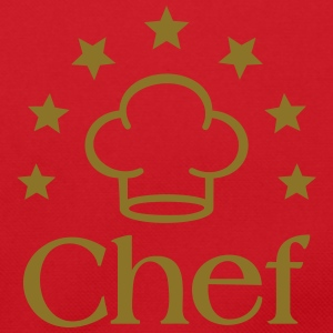 Chef Chef's Hat Cook Cooking Icon Stars  Caps & Hats - Shoulder Bag