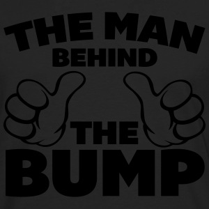 The Man Behind The Bump T-shirts - Långärmad premium-T-shirt herr
