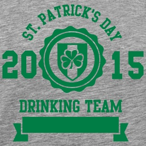 St. Patrick's day drinking Team 2015 Manches longues - T-shirt Premium Homme