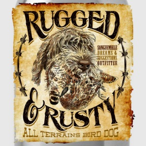 rugged and rusty Camisetas - Cantimplora