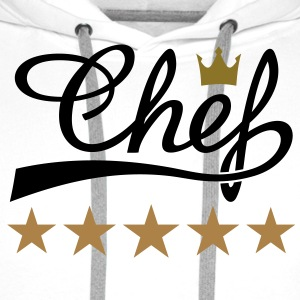CHEF, COOK, COOKING T-Shirts gifts ideas - Men's Premium Hoodie