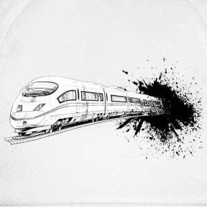 train ICE T-shirts - Basebollkeps
