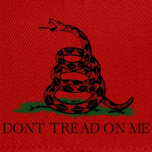 Don't tread on me T-Shirt - Casquette snapback