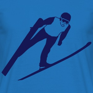 ski jumping - ski flying Sweat-shirts - T-shirt Homme