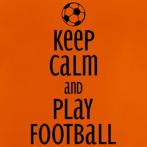 keep calm and play football T-shirts - Baby-T-shirt