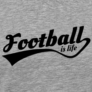 football is life 5 Tröjor - Premium-T-shirt herr